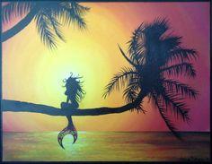 Mermaid+Painting+by+tori5585+on+Etsy,+$100.00