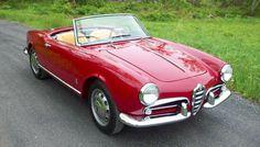 Classic Car News Pics And Videos From Around The World Alfa Romeo Giulietta Spider, Alfa Romeo Spider, Maserati, Ferrari, Alfa Romeo Cars, Cabriolet, Vintage Cars, Cool Cars, Dream Cars