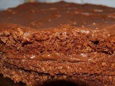 Sjokoladekake med herlig sjokoladekrem