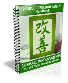 Product Creation Kaizen Handbook by Kevin Riley