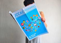 JCCAC Programme May and June Issues by Jim Wong, via Behance