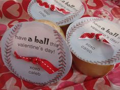 Applesauce or Fruit Cup Valentines- or anytime. Fun to toss in kids lunches