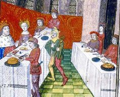 There's nothing like a medieval banquet for show-off food. When Catherine de Valois, wife of Henry V, was crowned in 1421, the feast was held during Lent and so could contain no meat. Yes, it had eels, salmon, trout, huge crabs and whelks. I can tell you're unimpressed. But it also had 'subtleties': non-edible dishes that introduced each course. This feast included pelicans, panthers and a man riding on a tiger. Eat your heart out, Gordon Ramsey.