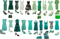"""GREEN & TURQUOISE SELECTIONS"" by dahtee on Polyvore"