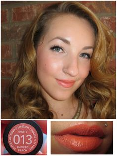 Revlon Matte Lipstick in Smoked Peach