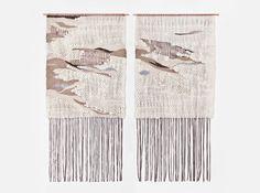 Tree Bark Camouflage Pair II by BROOK & LYN