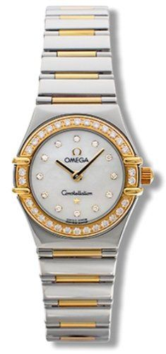 Women's Wrist Watches - Omega Womens 13657500 Constellation My Choice Quartz Mini Diamond Watch *** For more information, visit image link. (This is an Amazon affiliate link)