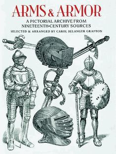 Over 750 detailed, high-quality illustrations from rare 19th-century sources: suits of armor, chain mail, swords, helmets, knives, crossbows and other implements, along with scenes of battle, soldiers, horses, artillery, and more.