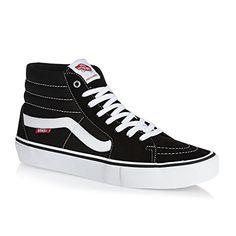 brand new f36d0 5c635 Vans Hi Pro Black white Shoes Men size U.