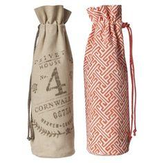 Nice wine bags at Target