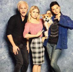 David, Rose and Aly