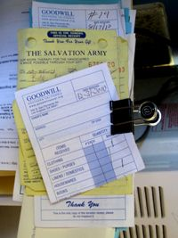 salvation army donation receipt