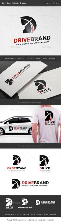 Drive Letter D Logo