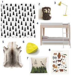 woodland-themed room