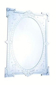 "Elegant Lighting MR-2033 29"" Wide Mirror from the Venetian Collection Clear Mirror Home Decor Mirrors Lighting"