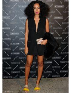 Solange Knowles et sa pochette originale
