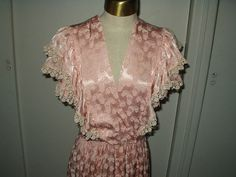Vintage 1940 Shimmery Rayon Fabric Lingerie by TheGatheringVintage, $95.00