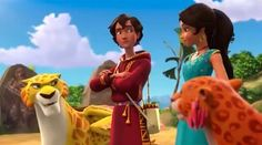 Migs Mateo Elena and Luna | Realm of the Jaquins | Elena of Avalor