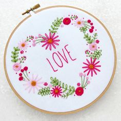 All you need is..... ❤ #love #embroidery #embroiderykit