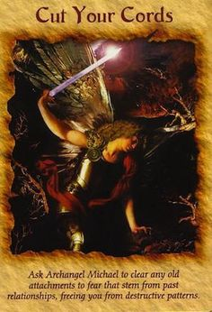 Ask Archangel Michael to clear any old attachments to fear that stem f - Angelic Healing By Danica