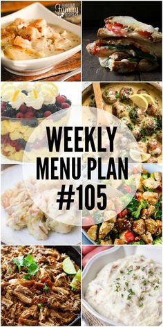We have gotten together with some of our favorite food bloggers to bring you this custom weekly menu plan. We will all be sharing some of our favorite recipe ideas for you to use as you are planning out your meals for the week. Just click any of the recipe titles or pictures to get...