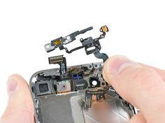 8. Fjern strøm og sensor kablet fra iPhonen.
