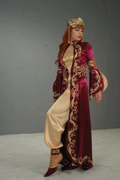 henna night turkish traditional costume
