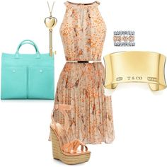 MY FIRST POLYVORE!!! Yay! Brunch at Tiffanys, created by nobutyeah on Polyvore my-polyvore-creations
