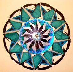Turning old cds into beautiful mandalas, from mrspicasso's art room