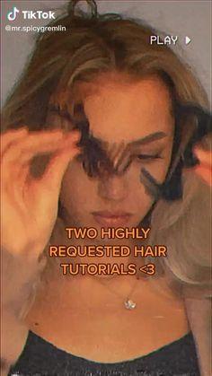 Hair Tips Video, Hair Videos, Cut My Hair, Hair Cuts, Hair Inspo, Hair Inspiration, Hair Styler, Baddie Hairstyles, Aesthetic Hair