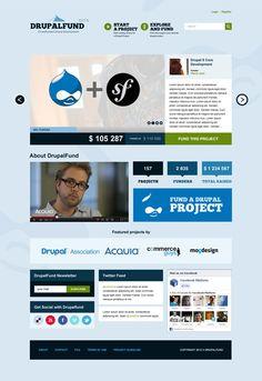 Drupalfund #drupal #crowdsourcing Linkedin Network, Website Design Services, Web Design, Graphic Design, Drupal, Social Marketing, Project Management, Projects, Apps