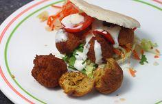 De man zijn versie van falafel - De man die koken kan