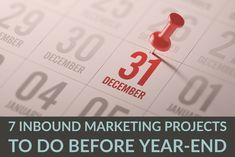 7 Marketing Projects To Complete In Don't leave unused marketing budget on the table when you can instead initiate projects that will help prove the ROI of your current strategy and identify opportunities to target in the future. Marketing Budget, Inbound Marketing, When You Can, Budgeting, Target, Future, Projects, Log Projects, Future Tense