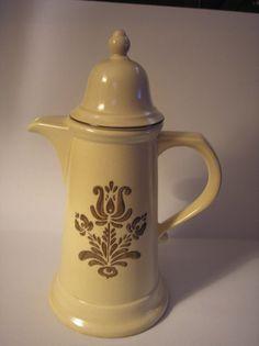 1970's Pfaltzgraff Pottery Village Tea / Coffee Pot by daddydan, $15.45