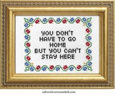 Featured | Subversive Cross Stitch