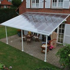 Finish your backyard with a gazebo or pergola from Sam's Club. Choose from wood, metal and other materials for the outdoor patio of your dreams! Pergola With Roof, Patio Roof, Pergola Patio, Back Patio, Pergola Kits, Backyard Patio, Cheap Pergola, Awning Patio, Awning Roof