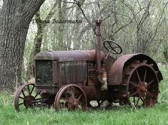 Rusty Farm Tractor 8x10 Fine Art Photography by CoolClixPhotos, $25.00