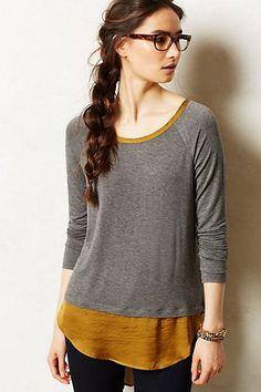 流行时尚:夏天的时尚DIY: Tshirt 的升级改造 - 由greenlawn发表 - 文学城