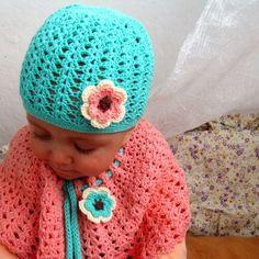 Čepička víly Amálky Crochet Hats, Creative, Knitting Hats