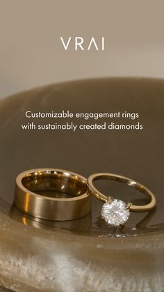 Dream Engagement Rings, Wedding Engagement, Wedding Ring Bands, Wedding Jewelry, Diamond Rings, Gold Rings, Carbon Footprint, Jewelry Accessories, Trendy Jewelry
