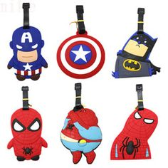 Super Hero Series Luggage Tag US  $5