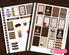 I was planning to make Coffee themed planner stickers for many days but couldn't manage. Today I finally made this Free Printable Coffee Themed Planner Stickers Sampler Kit for Happy Planner Daily Boxes and also for Erin Condren Life Planner Boxes. You can also resize and use these in your Plum Paper Planner. Someone told me …