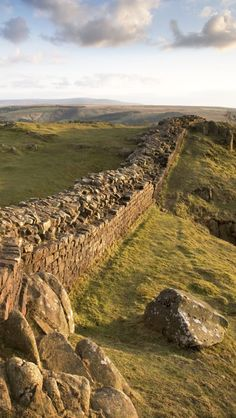 Frontiers of The Roman Empire, Hadrian's Wall, England                                                                                                                                                                                 More
