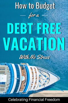 A simple budgeting trick to help you take a debt free vacation. You don't need to take on debt for your next trip! How to have a no debt, no stress vacation Budgeting Tools, Budgeting Money, Travel Money, Budget Travel, Travel Tips, Debt Free Living, Savings Planner, Free Vacations, Student Loan Debt