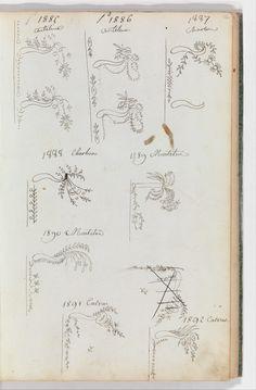 Fabrique de Saint Ruf | Scrapbook of Designs for Embroidered Waistcoats | The Metropolitan Museum of Art