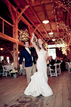 Rustic Weddings – Romantic Barn Wedding in New Hampshire – Taylor and Jarrod