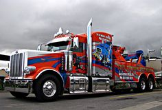 Peterbilt Tow Truck.I like this truck.Please check out my website thanks. www.photopix.co.nz