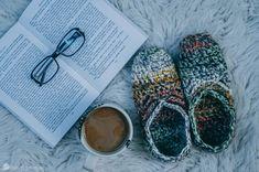 Chunky Ballet Slippers Crochet Pattern (Kids Included!)