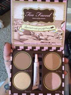 Too faced The bronzed and the beautiful French Riviera edition