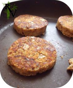 galettes toutes simples d'aubergine... pour veggie burger ?